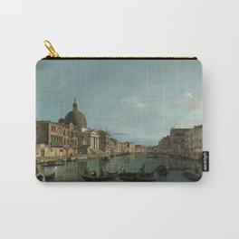A View of the Grand Canal by Canaletto Carry-All Pouch