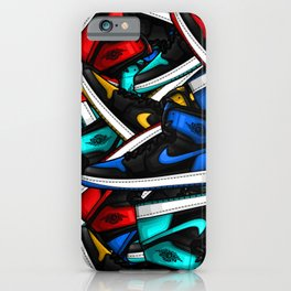 Jordan 1 Pattern iPhone Case
