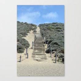 Carol Highsmith - Steps in the Sand Canvas Print
