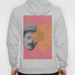 James Joyce - portrait pink and yellow Hoody