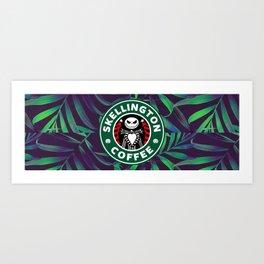 Jacks coffee Art Print