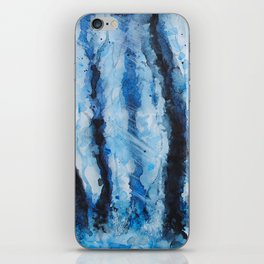Winter forest 3 iPhone Skin
