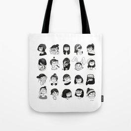 Daily mood Tote Bag