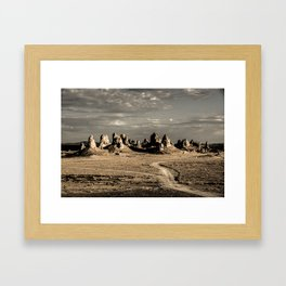 Torna, California Framed Art Print