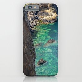 The bay from above iPhone Case