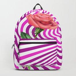 My hipnotic rose Backpack