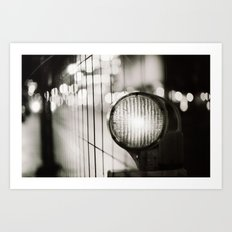 Slow light Art Print