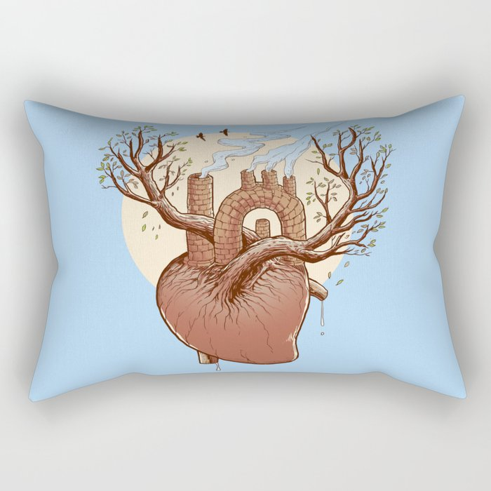 Always in my heart Rectangular Pillow