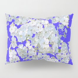 MODERN PURPLE & WHITE LACE FLORAL GARDEN Pillow Sham