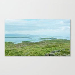 Iceland - Earth Before Humans Canvas Print