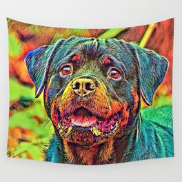 AnimalColor_Dog_004_by_JAMColors Wall Tapestry