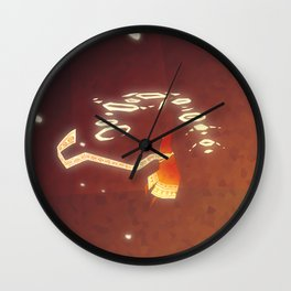 Journey - Mysterious Creature Wall Clock