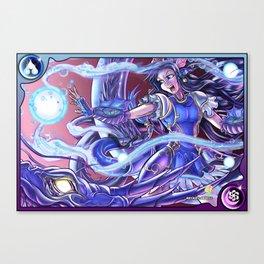 Ethereal Guardian Seiryuu Karin Canvas Print