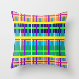Southwest Midwest Wild West 1 Throw Pillow