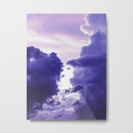 Lilac Clouds Metal Print
