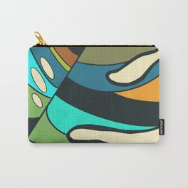 Monstera leaf painting Carry-All Pouch