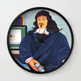 Modern Philosophy Wall Clock