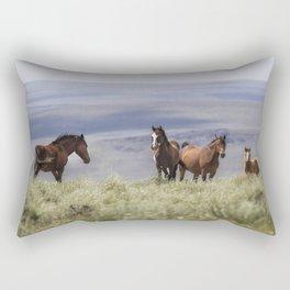 On the Mountain Rectangular Pillow