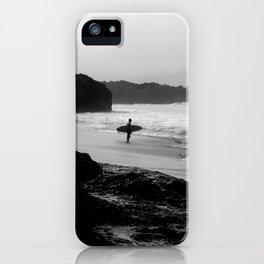 Secret Surf Spot iPhone Case