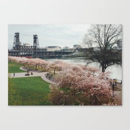 Portland Bloom Canvas Print