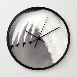 Plane / Blue Angels Jets Wall Clock