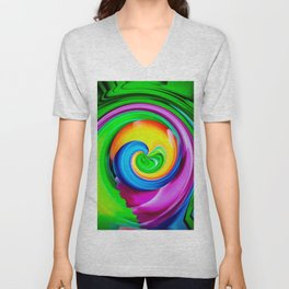 Abstract Perfection 29 Unisex V-Neck