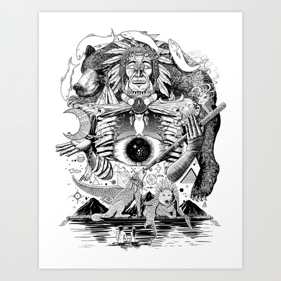 Dream Pipe Art Print