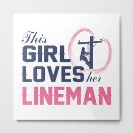 Loves Her Limeman Metal Print