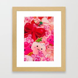 Thoughts on Being Agreeable Framed Art Print
