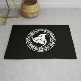 The triple horn of Odin Rug