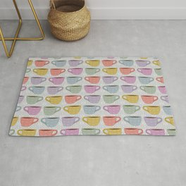Colorful Cups Rug