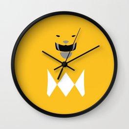 Yellow Ranger, Power Ranger, Hero Wall Clock