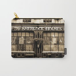 The Sherlock Holmes Pub London Carry-All Pouch