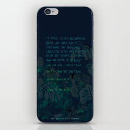 """""""Conquest of the Useless"""" by Werner Herzog Print (v. 4) iPhone Skin"""