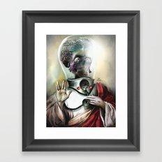 I believe in Mars Attacks!  Framed Art Print