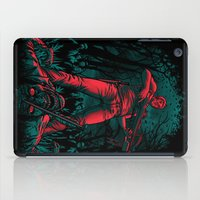 monster hunter iPad Cases featuring Hunter by Fuacka