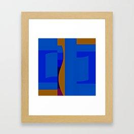 Bluevue Me Already Framed Art Print
