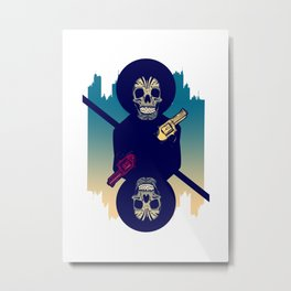 Up the Ante Metal Print