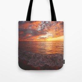 Inspirational Sunset by Aloha Kea Photography Tote Bag