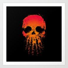 Skullset Art Print