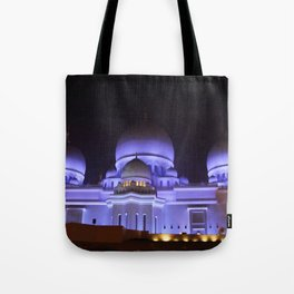 Sheikh Zayed Grand Mosque Tote Bag