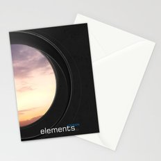 elements | clouds Stationery Cards