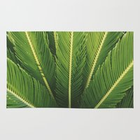 palm tree Area & Throw Rugs featuring palm tree by Life Through the Lens