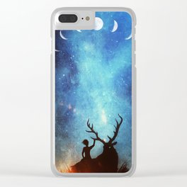 Campfire Pals Clear iPhone Case