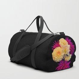 The last dahlias of the season Duffle Bag