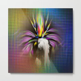 Abstract - Perfection - Flowermagic Metal Print