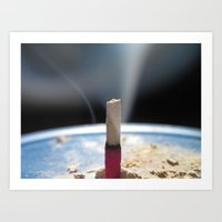 postcard Art Prints featuring Postcard by Kevin Ramsey