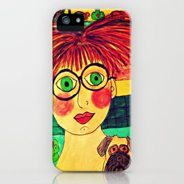 """Tallulah and Georgia's Happy Place"" iPhone Case"