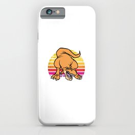 Dinosaurs Did Not Read Now They Are Extinct Motive iPhone Case