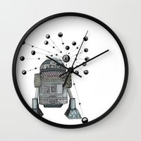 r2d2 Wall Clocks featuring R2D2 by Svenningsenmoller Design